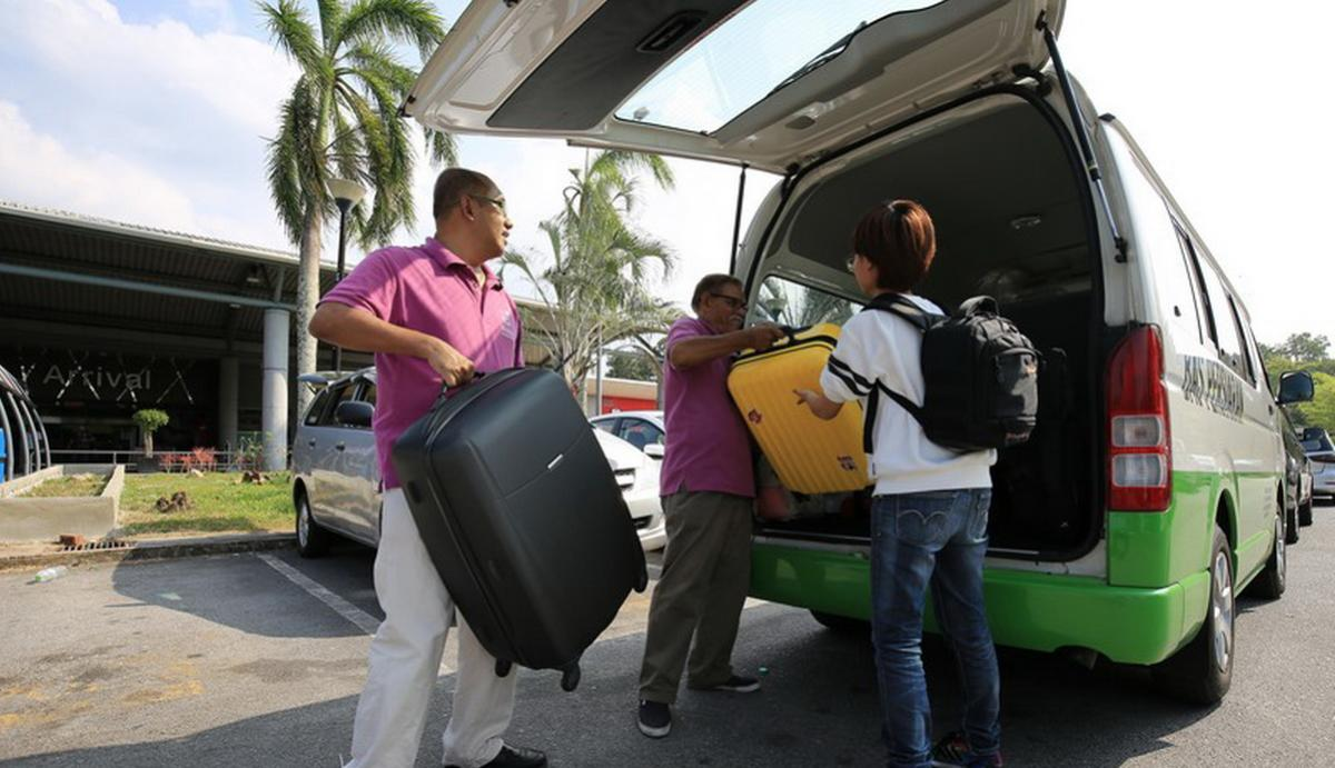 บริการรับส่งสนามบิน 2 เส้นทาง จากสนามบินลังกาวี - โรงแรม - สนามบินลังกาวี