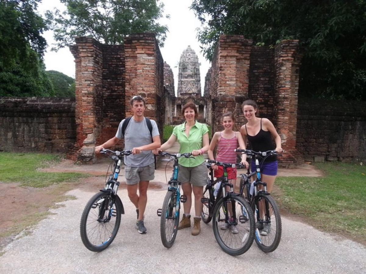 Cycling at the Sukhothai's Countryside  (Fullday)