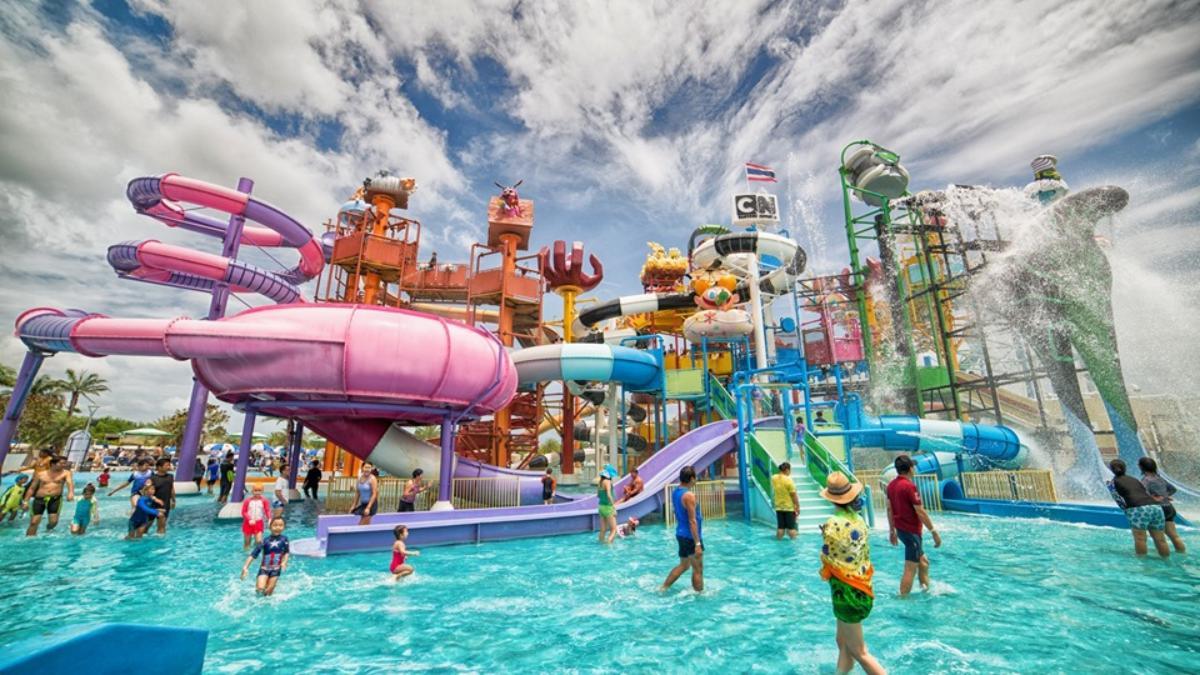 Water Park @Cartoon Network Amazone Pattaya.