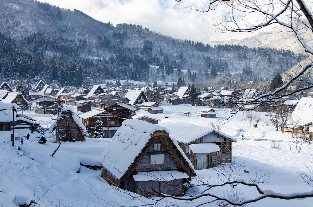 เยี่ยมชมหมู่บ้านชิราคาวาโกะ & เมืองเก่าฮิดะ-ทาคายามะ / ออกจากหน้า Kyoto Avanti・ออกจาก Otsu Prince Hotel (One Day Trip)