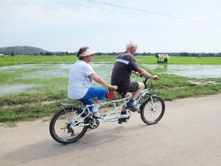 Cycling at the Sukhothai's Countryside (Half day)