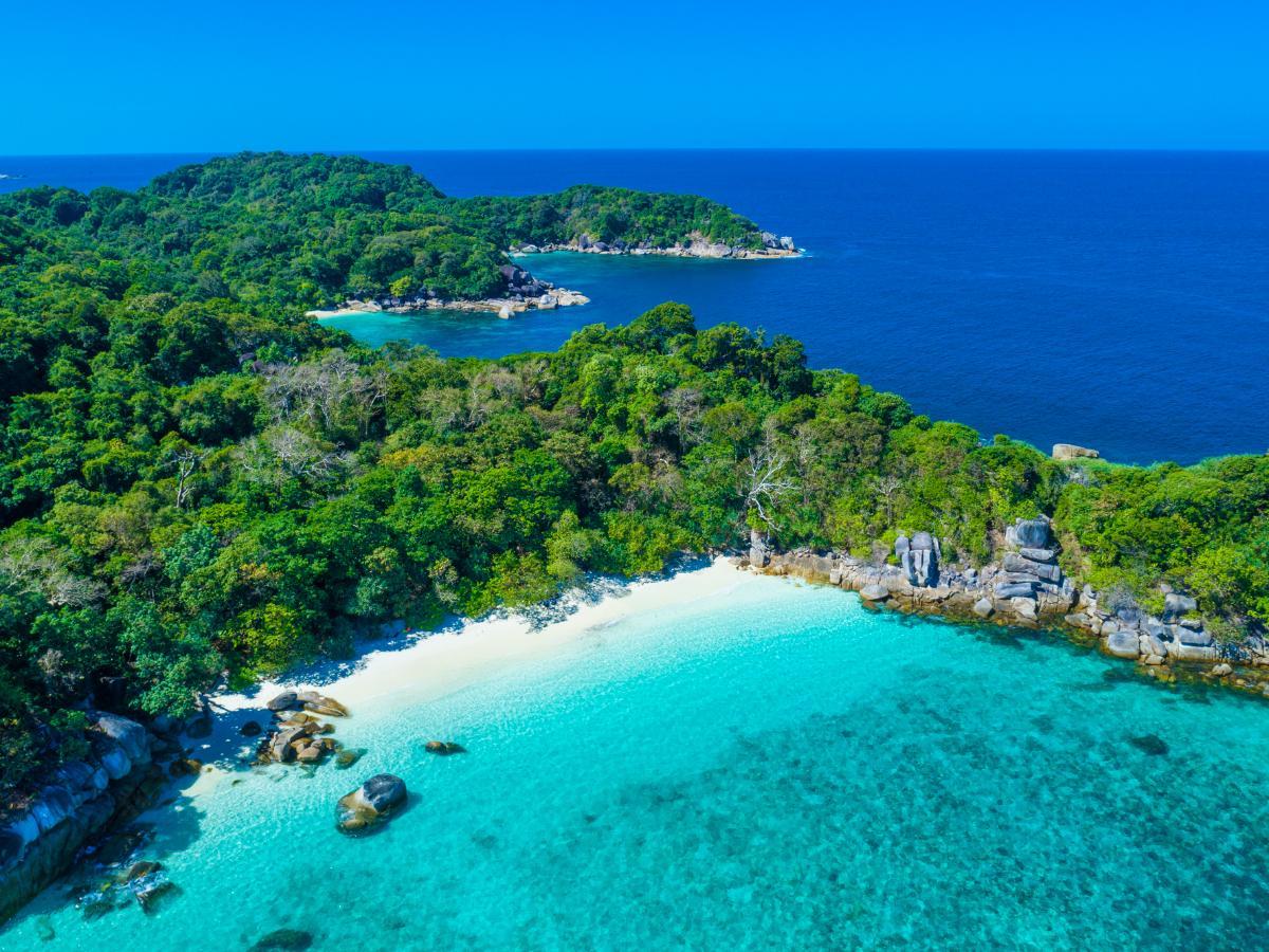 ดำน้ำเกาะนาคินโย Boulder Island, เมียนมาร์ >>Love Andaman<< ONE DAY TRIP